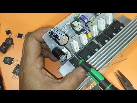 How To Make An Amplifier Using Transistor 2sc And