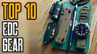 Top 10 New EDC Gear 2020   Best Everyday Carry Gadgets