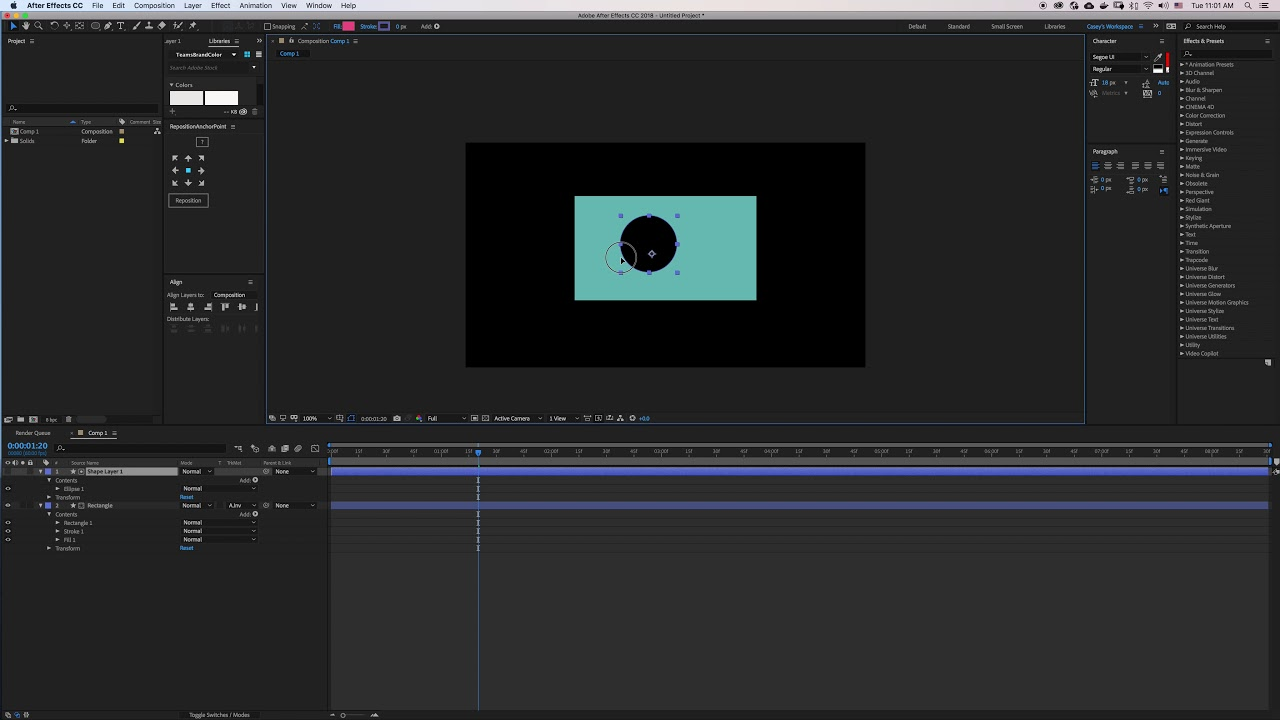 layer mask after effects cc
