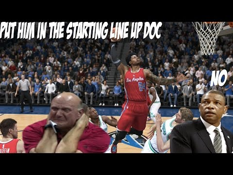 NBA LIVE 15 - DOC NEEDS TO PUT ME IN THE STARTING LINEUP OR GET FIRED