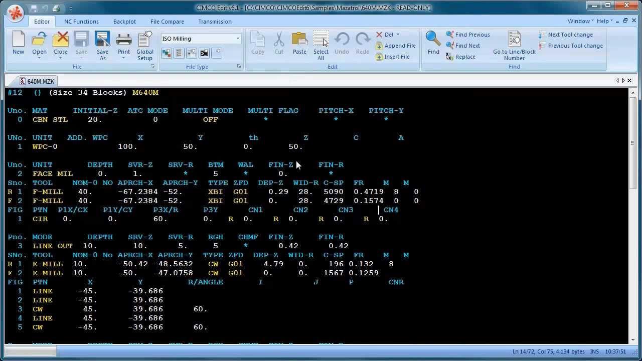 CIMCO Training video - Mazatrol viewer - 5/6