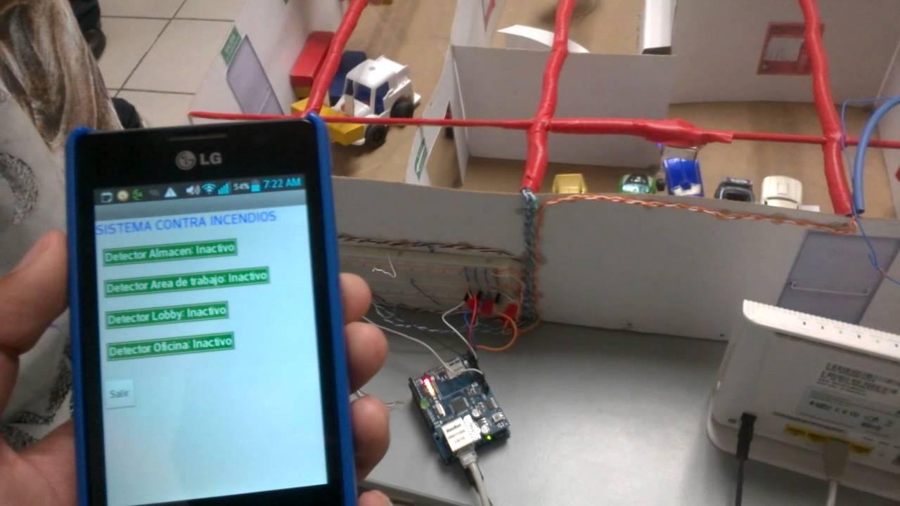 Detectores de humo con arduino y android youtube - Detectores de humos ...