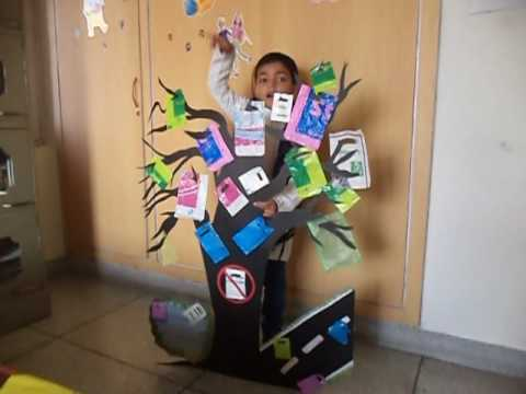 """First prize winning """"Don't use polybags"""" English rhyme recitation(prep class) by KARTIKEYA"""