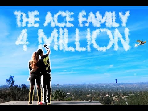 4 MILLION ACE FAMILY MEMBERS!!! (YOU WON'T BELIEVE WHAT WE DID) Mp3