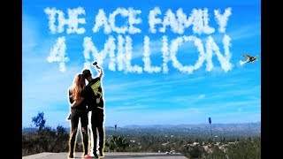 4 MILLION ACE FAMILY MEMBERS!!! (YOU WON'T BELIEVE WHAT WE DID)