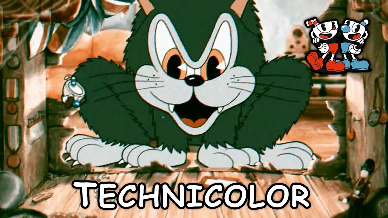 two strip technicolor animation