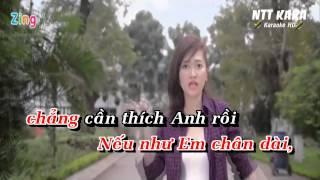 [Karaoke] Chân Ngắn - Cẩm Vân Phạm (full beat)