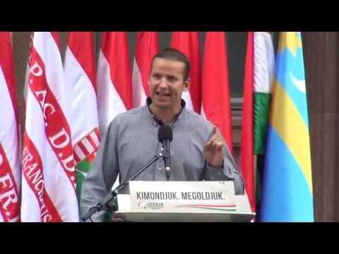 Magyarország a magyaroké! - Toroczkai László, (Ásotthalom polgármestere) beszéde
