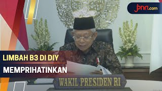 Instruksi Ma'ruf Amin Kepada Sri Sultan HB X
