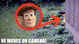 WOODY DOLL MOVES IN REAL LIFE! *He Disappeared!*