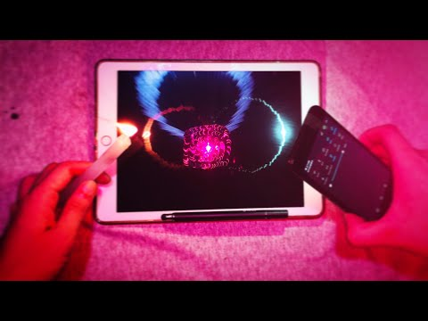 【art science】Hand draw Hologram on  ipad and cellphone Screen  3D全息手绘立体绘画part1