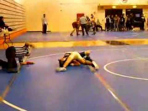 One Handed Wrestling Match
