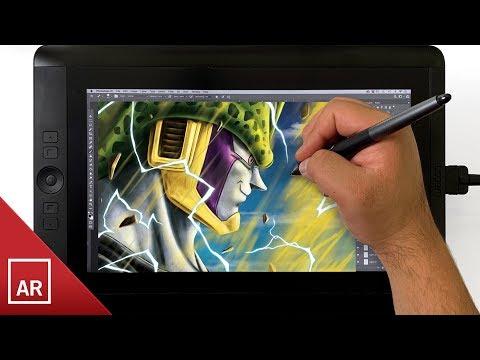 Perfect Cell Digital Drawing - Dragon Ball Z
