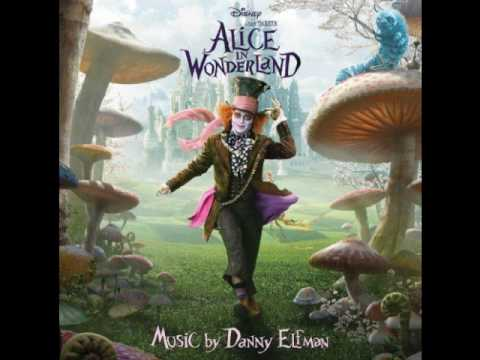 Саундтрек alice in wonderland