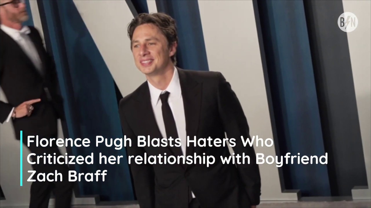 Florence Pugh defended those who criticized him in Zach Braff issue