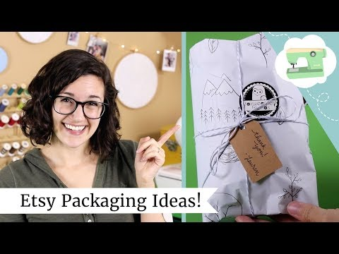 Etsy Packaging Ideas - How I package my Etsy orders + holiday shopping gift wrap hack! Mp3