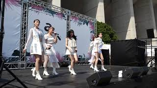 Chuning Candy『Over the cloud』@ a-nation 2019 大阪公演 Community Stage in ヤンマースタジアム長居 2019/08/17