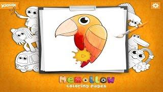 Раскраски для детей Memollow - Развивающее видео для малышей
