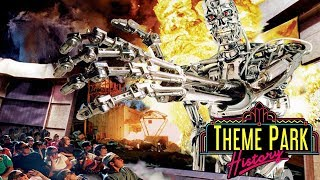 The Theme Park History of Terminator 2 3D Battle Across Time Universal Studios FloridaHollywood