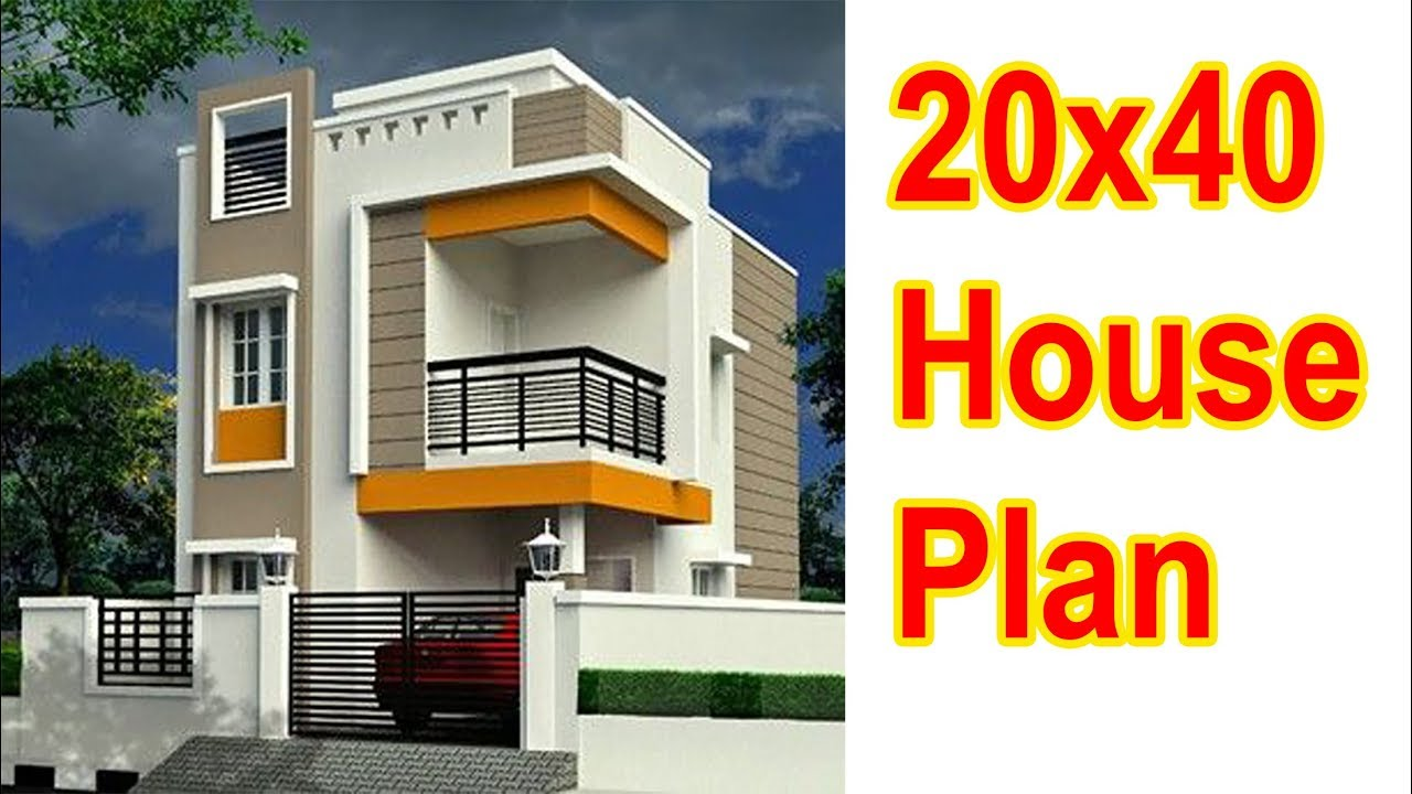20x40 House Plan 2019 Style Urdu Hindi Youtube