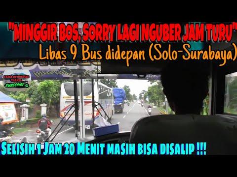 'MINGGIR BOS, SORRY LAGI NGUBER JAM TURU'   Trip Report Bus SUMBER SELAMAT (W 7076 UZ) [Part 2]