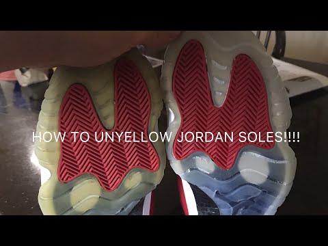 How To Unyellow Soles (Part 1)