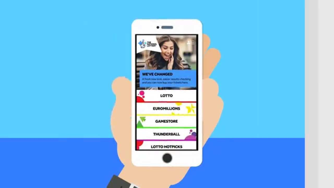 Introducing The New National Lottery App