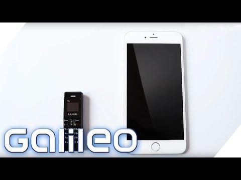 Das kleinste Handy der Welt | Galileo | ProSieben