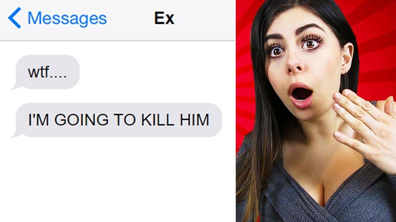 TEXTING MY EX PRANK GONE WRONG (LYRIC PRANK)