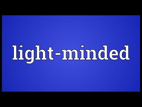 Header of light-minded