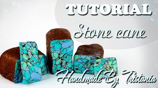 ✨Polymer Clay Tutorial: Stone Cane✨ Мастер-класс: \