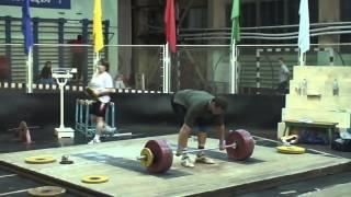 Тяжёлая атлетика.Николай Губарев. Тренировки,2007год.