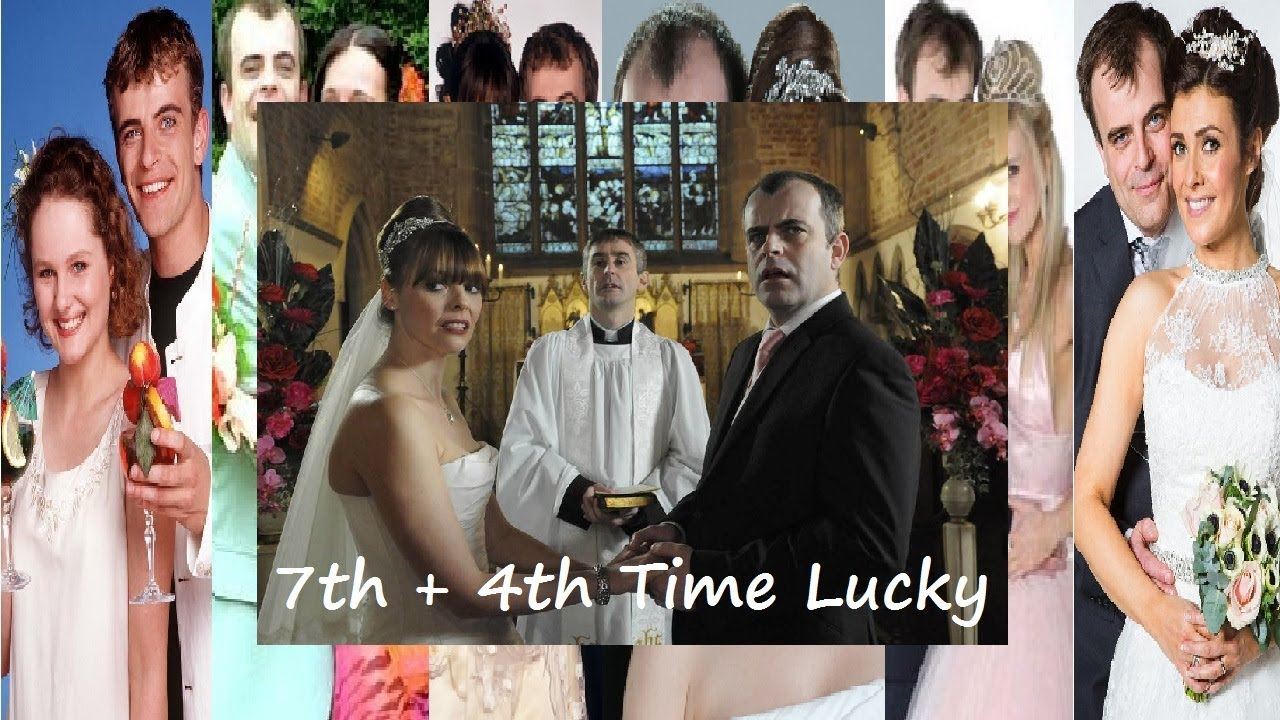 Coronation Street Steve Mcdonald Tracy Barlow Get Married Again Wedding Number 7 4