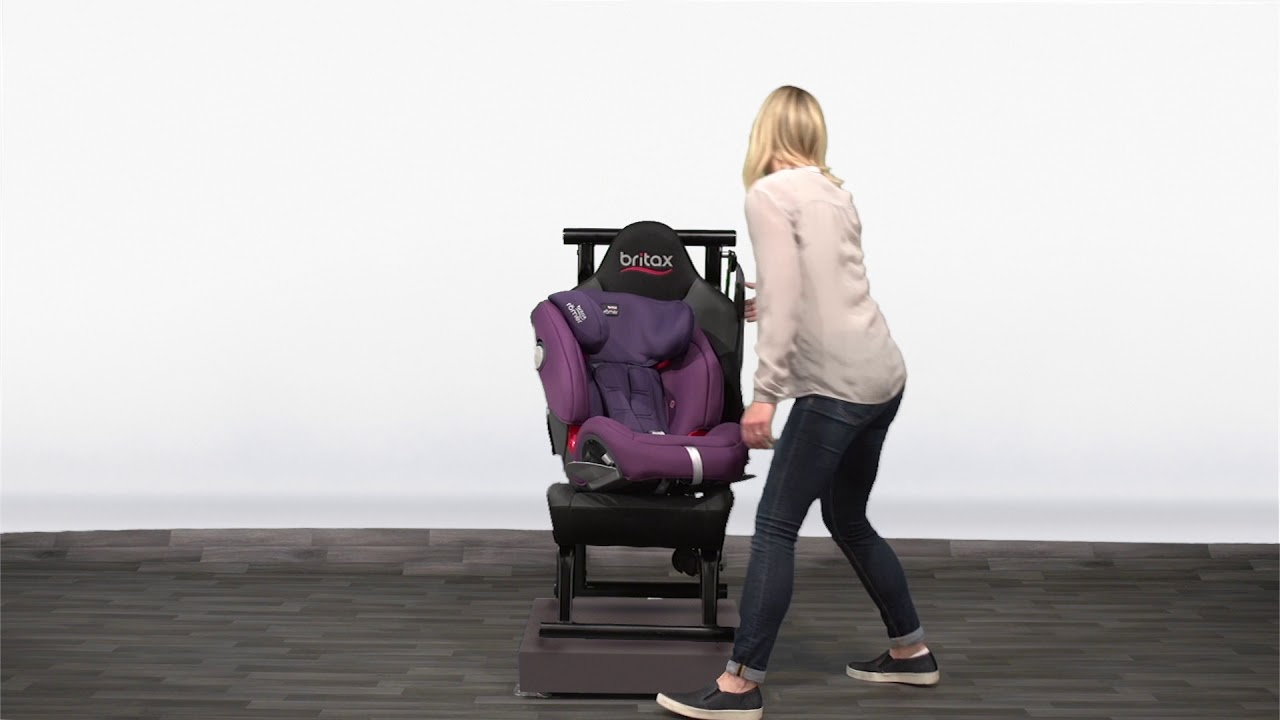 britax r mer car seat evolva 1 2 3 sl sict isofix youtube. Black Bedroom Furniture Sets. Home Design Ideas