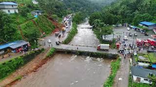 Idukki Cheruthoni Dam Arial View