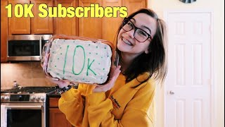 baking a cake for 10k subscribers!!