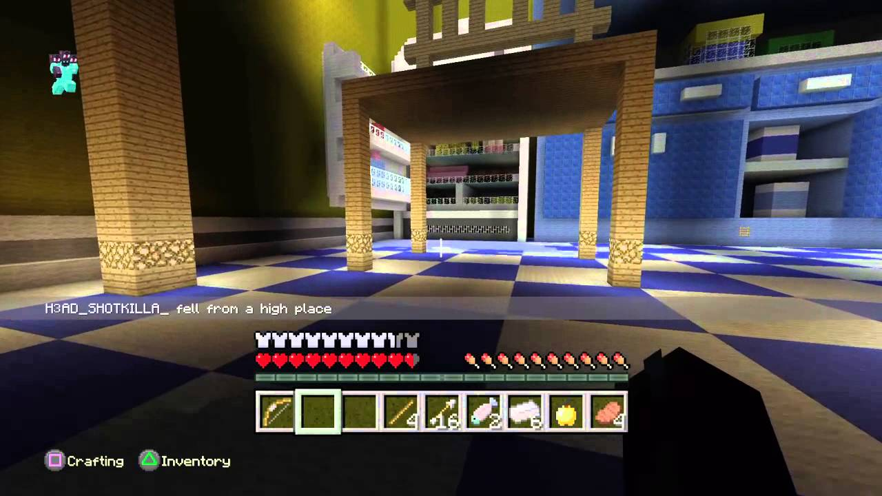 minecraft ps4 toy story hunger games youtube. Black Bedroom Furniture Sets. Home Design Ideas