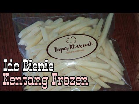 Divideo kali ini saya akan kasih resep ke kalian cara bikin french fries tanpa tepung (maizena dll)..