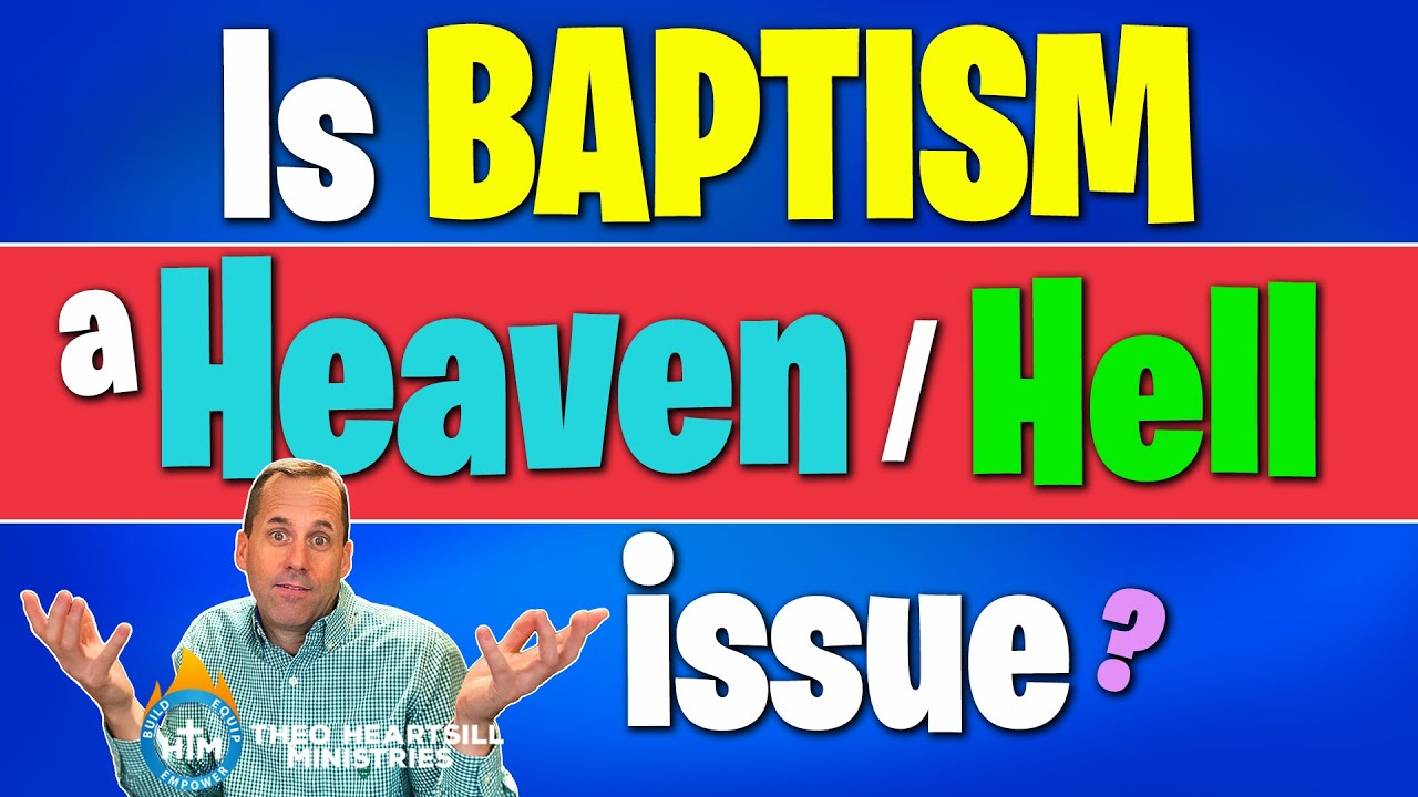 WHAT HAPPENS TO A PERSON NOT BAPTIZED? Do you go to hell if NOT baptized?