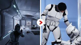 Galactic Assault Intro Cinematics Remastered | Kamino Cloning Facility [Republic]