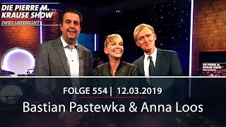 Pierre M. Krause Show vom 12.03.2019 mit Bastian Pastewka und Anna Loos