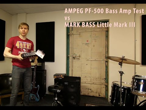 DON'T BUY Ampeg Portaflex PF-500 over Mark Bass III ?