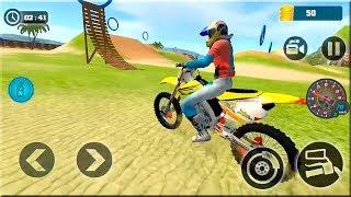 Motocross Beach Bike Stunt Racing - Offroad Bike Racing 3D Games