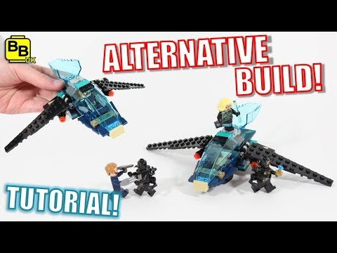 LEGO AVENGERS INFINITY WAR 76101 ALTERNATIVE BUILD STRIKE JET!