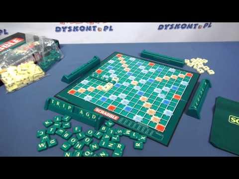 Gra - Scrabble polsko-angielskie - Mattel - www.MegaDyskont.pl - sklep z zabawkami