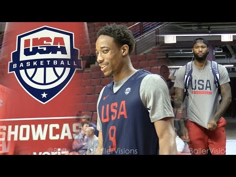 Team USA Chicago  Practice, Shootaround,  & Interviews | Team USA in Chicago