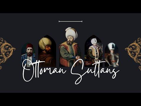 Ottoman Sultans (1299-1922)