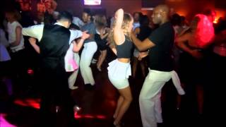 Brandon B  & Savannah Bailey Bachata Social Dance at Mr. Mambo