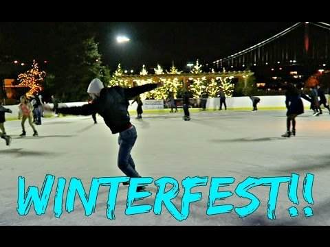 Ice Skating | Winterfest!!