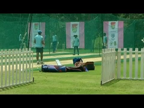 Team India sweats it out at the nets ahead of 4th ODI against South Africa